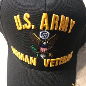 US Army Woman Veteran Cap